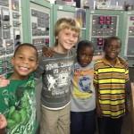 Children visit the museum