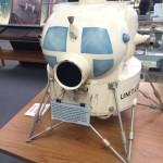 Original model of the first lunar excursion module LEM