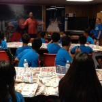 Students from Taiwan visit the museum