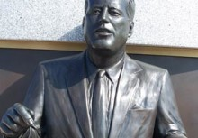 Apollo Monument - John F. Kennedy Bust - Space View Park - Titusville Florida