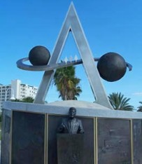 Apollo Monument at Space Walk of Fame Museum Titusville