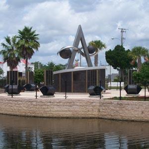 Apollo Monument - Space View Park - Titusville Florida