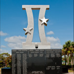 Gemini Monument - Space View Park Titusville Florida