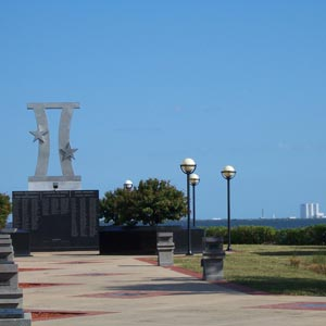 Gemini Monument - Space View Park - Titusville Florida