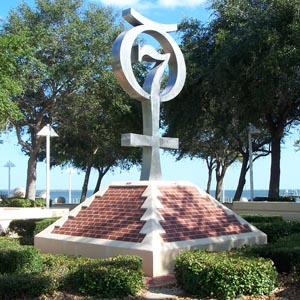 Mercury Monument - Space View Park - Titusville Florida