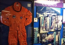 NASA uniform exhibit